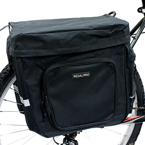 PedalPro Double Rear Bicycle Pannier Bags