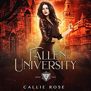 Fallen University: Year One audiobook cover art
