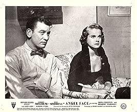 Angel Face 1952 Howard Hughes Original Lobby Card Robert Mitchum Jean Simmons