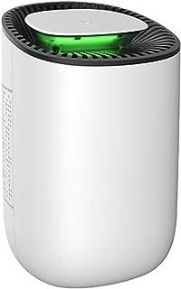 UGHEY Deshumidificador 600ml Mini deshumidificador eléctrico portátil deshumidificadores de aire ultra silencioso para el ...