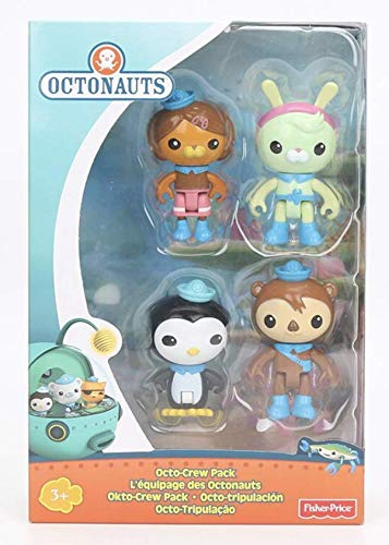 Octonauts Crew Pack 4 Pieces Play Figures Dashi Tweak Shellington Peso