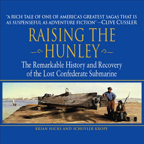 Raising the Hunley audiobook cover art