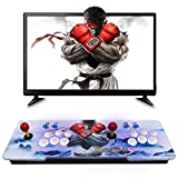Timstono 3D Game Box 18s, 4500 Games Arcade Machine, Family GameMultiplayer Home Joystick, Classic Arcade Game Console Compatible with HDMI and VGA.