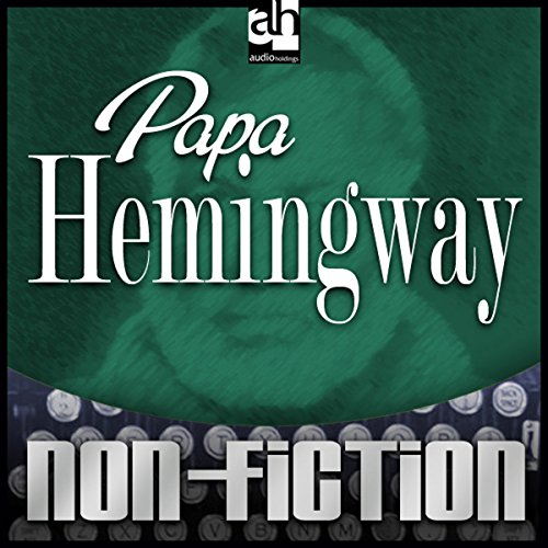 Papa Hemingway audiobook cover art