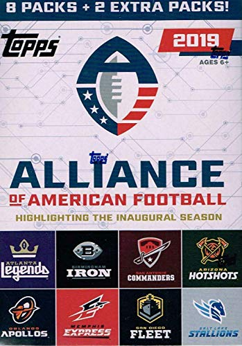 Topps 2020 Alliance of American Football - Value Box