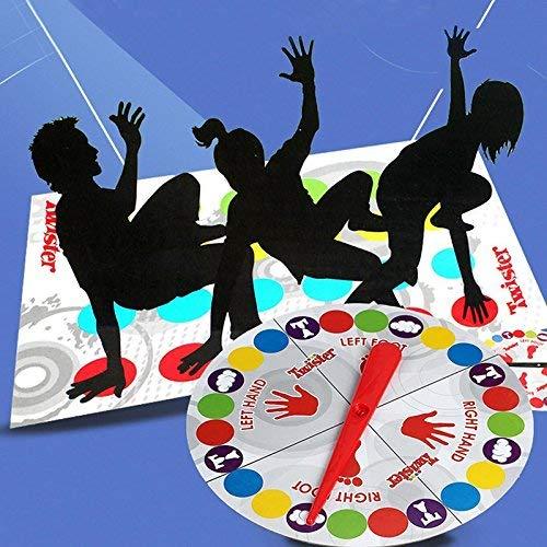 Amyove Juego Alfombrilla Diversin Twister Juguete Educativo Juego Pad para Nios Adulto Sports Se Mueve