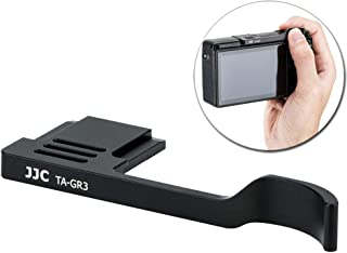 JJC 金属サムグリップ Ricoh リコー GR III GR3 デジタルカメラ適用 装着簡単 カメラホールド感を高める