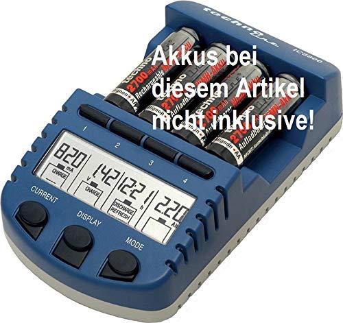 Technoline BC 1000N - Cargador de baterías (12 en 1, no Incluye batería)