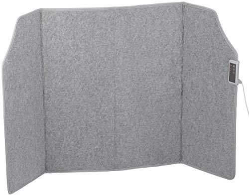 Sichler Haushaltsgeräte Heizwand: Faltbares Fern-Infrarot-Heizpanel, bis 65 °C, 400 Watt, Größe L (Heizpaneel)