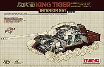 MNGSPS037 1:35 Meng Sd.Kfz.182 King Tiger (Henschel) Interior Set [for use with Meng Kit #TS-031] [MODEL KIT ACCESSORY]