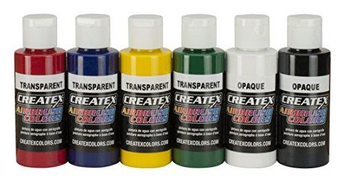 Createx Colors 5801-00 Airbrush-Farbset, 56,7 ml, mehrfarbig, 320 ml