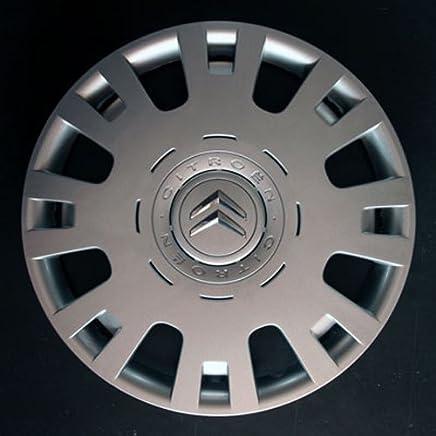 Wheeltrims Set de 4embellecedores nuevos para Citroen C4/C1/C2/C3/C5/C8/Nemo/Berlingo/Xsara Picasso con Llantas Originales de 15