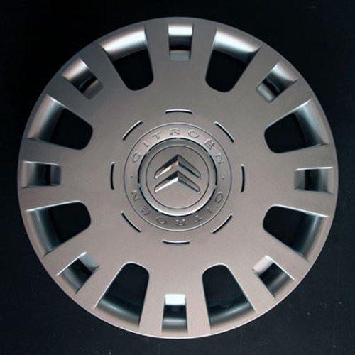 Wheeltrims Set de 4embellecedores nuevos para Citroen C4/C1/C2/C3/C5/C8/Nemo/Berlingo/Xsara Picasso con Llantas Originales...