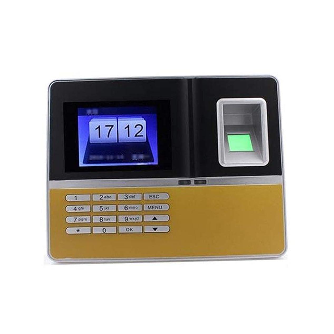 そよ風ベースよく話される指紋出席マシンサインイン指紋認証署名英語出席マシンWIFIワイヤレスネットワーキング チェックインレコーダー (色 : Photo color, サイズ : Oner size)