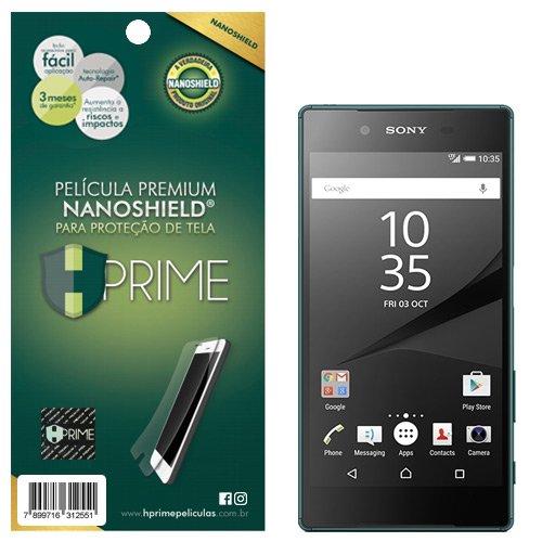 Pelicula HPrime NanoShield para Sony Xperia Z5, Hprime, Película Protetora de Tela para Celular, Transparente