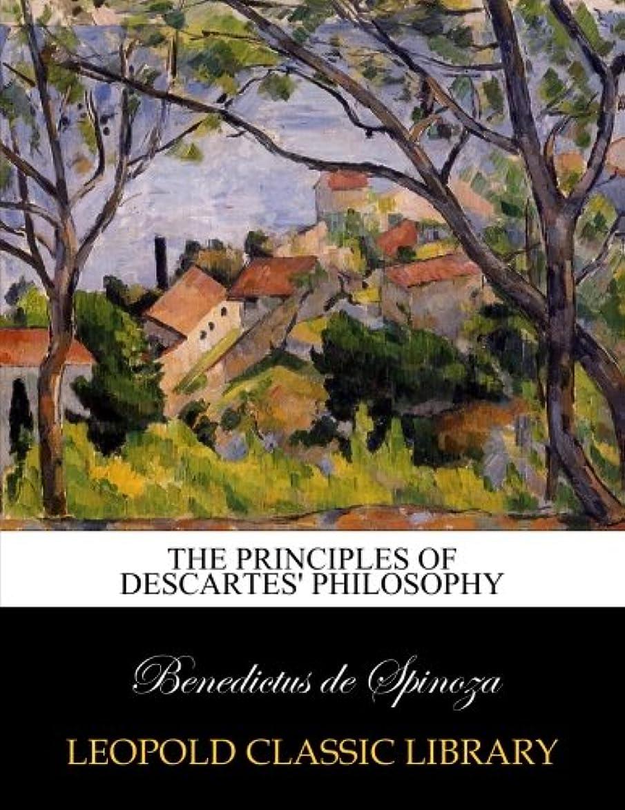 認証鳴らす放射性The principles of Descartes' philosophy