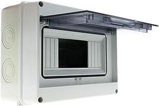 comprar comparacion BeMatik - Caja de distribución eléctrica SPN 8M IP65 de Superficie de plástico ABS HT