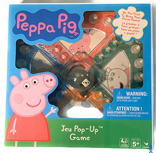 Peppa Pig Jeu Pop Up Board Game Ages 5 and up