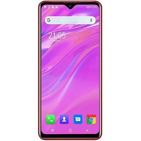 Blackview A80 Pro 2020ニューモデル SIMフリー スマホ 本体 1300万画素 Android 9.0 スマートフォン 6.49インチ 大画面 格安 携帯電話 レッド