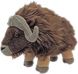 Wild Republic Musk Ox Plush, Stuffed Animal, Plush Toy, Gifts for Kids, Cuddlekins 12 Inches