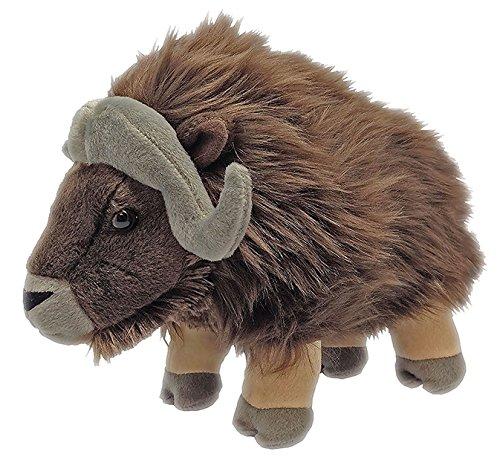 Wild Republic peluche Bue di muschio, Cuddlekins coccolone peluche, regali per bambini 30 cm