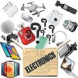 LYKH Una Caja De La Suerte para Un Regalo Sorpresa, Caja Ciega Electrónica Productos Sorpresa para Regalos Agradables Que Pueden Ser: Teléfonos Móviles, Drones, Altavoz Bluetooth, Etc. (Aleatorio)