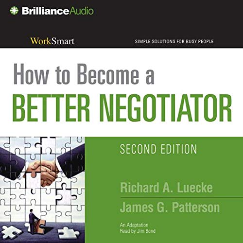 How to Become a Better Negotiator audiobook cover art
