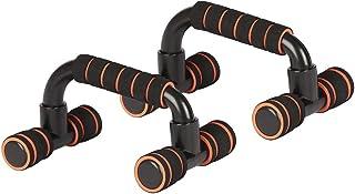 Barras de Empuje, Soportes extraíbles para Ejercicios de Entrenamiento Juego de manijas con agarres cómodos y Guantes para Entrenamiento Muscular de la Parte Superior del Cuerpo