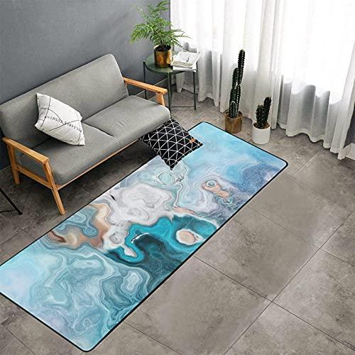 Tappeto per camera da letto in stile astratto blu Eddy Water Art Design tappeto da cucina tappeti e tappetini antiscivolo divano tappeto corridori lavabile tappeto pad per pavimento lavandino