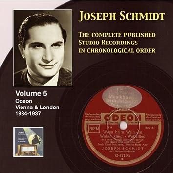 Joseph Schmidt : The Complete Recordings, Vol. 5 (Recorded 1934-1937) [Remastered 2014]