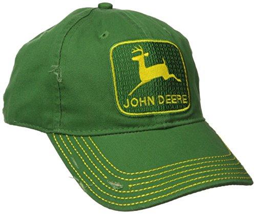 John Deere NCAA Herren Kappe Vintage Logo - Grün - Einheitsgröße
