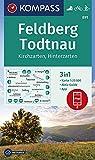 KOMPASS Wanderkarte Feldberg, Todtnau, Kirchzarten, Hinterzarten: 3in1 Wanderkarte 1:25000 mit Aktiv Guide inklusive Karte zur offline Verwendung in ... Langlaufen. (KOMPASS-Wanderkarten, Band 891)