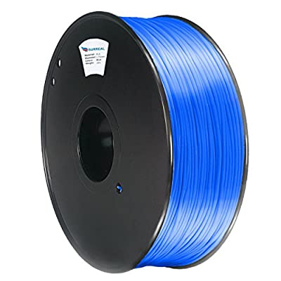 Surreal Pure ABS 3D Printer Filament 1.75mm - 1KG spool, Blue