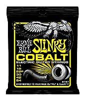 【 並行輸入品 】 Ernie Ball (アーニーボール) 2727 Cobalt エレキギター, Beefy Slinky (11 - 54)