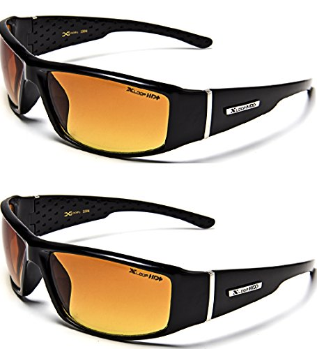 HD Anti-Glare Driving Glasses X-Loop 2 PACK (Black)