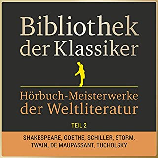 Hörbuch-Meisterwerke der Weltliteratur, Teil 2 (Bibliothek der Klassiker) Titelbild