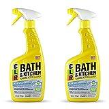 Jelmar Pb-Bk-2000 Clr Fresh Scent Bath And Kitchen Cleaner, 26 Oz Trigger Spray Bottle, 2p...