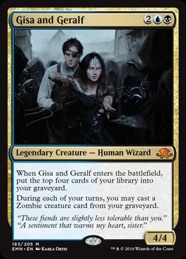 Magic The Gathering - GISA and Geralf (183/205) - Eldritch Moon