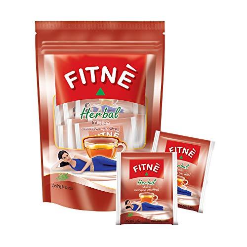 FITNE Original Herbal Tea Senna Infusion Healthy Beverage Natural Detox Gentle Cleansing Slimming Diet Weight Loss No Calories Caffeine Free, 40 Tea Bags