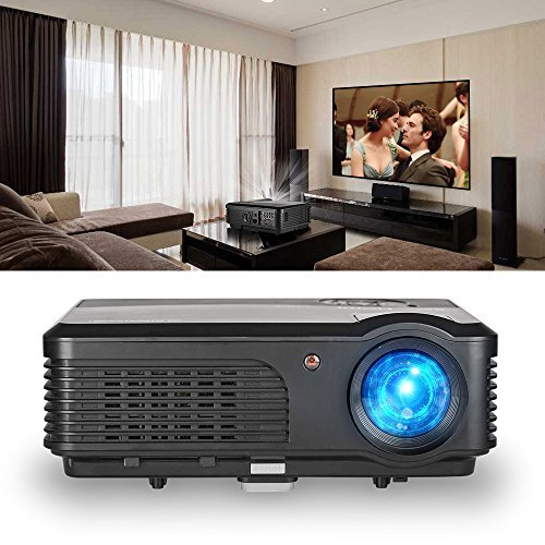 Caiwei LCD video proiettore HD 1080p support-factory Outlet & anno Garanzia HDMI Projector/1280 * 800(A6) HDMI Projector/1280 * 800(A6)