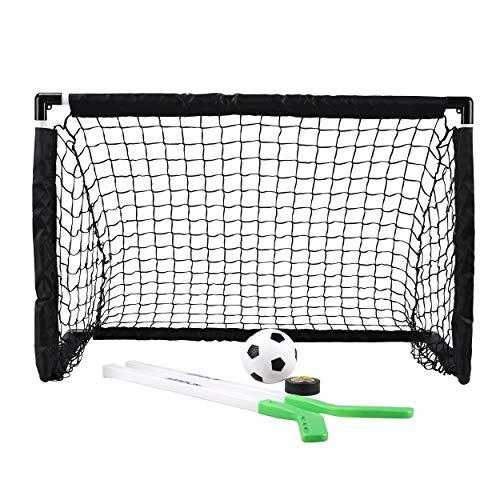 Sport Squad Mini 2-in-1 Dual Use Training Soccer Goal Net Set, Mini 2-in-1 Single Use