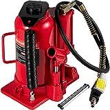 Mophorn Gato de Botella 20 T Gato Hidráulico de Coche Rojo Gato Hidraulico Carretilla para Reparación de Camiones Autos