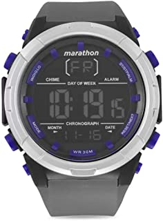 Timex Marathon Digital Dial Silicone Strap Men's Watch