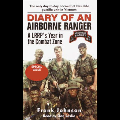 Diary of an Airborne Ranger audiobook cover art