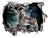 X-Men: Apocalypse Xmen X Men Wolverine V005 3D Wall Smash