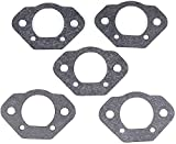 Discounting Online USA Made, 5 Carburetor Mounting Gaskets Replaces Poulan 19099, 530019099. Used On Models: 3400, 3700, 3800, 4000, Poulan Pro 375, 385, 395.