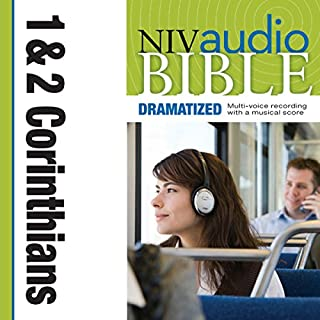 Dramatized Audio Bible - New International Version, NIV: (35) 1 and 2 Corinthians audiobook cover art