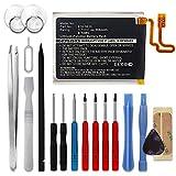 subtel® Batería Premium Compatible con Apple iPod Nano 7 Gen. A1446, 616-0639, 616-0640 200mAh + Juego de Destornilladores Pila Repuesto bateria