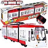 MalPlay Straßenbahn   mit Licht und Sound   ab 3 Jahren   Geschenk für Kinder und Erwachsene