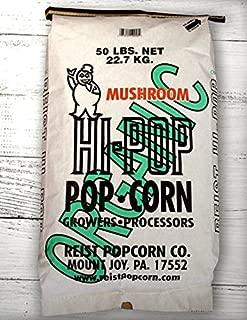 HI-POP Organic Yellow Mushroom Popcorn - Bulk 50lb Bags